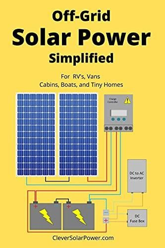 Off Grid Solar Power Simplified: For Rvs, Vans, Cabins, Boats and Tiny Homes - Default