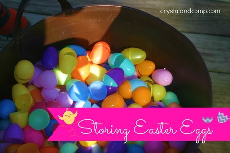How to Store Plastic Easter Eggs