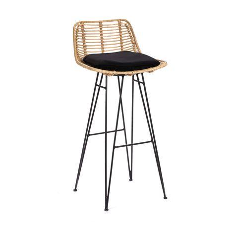 Chaise De Bar Design En Rotin 75cm Drawer Capurgana Chaise De