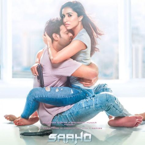 Saaho New Poster: Shraddha Kapoor and Prabhas show what a perfect couple looks like