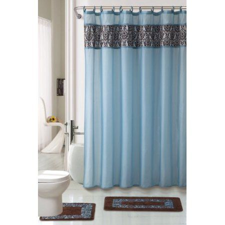 Personal Care Fabric Shower Curtains Shower Curtains Walmart Bathroom Shower Curtains