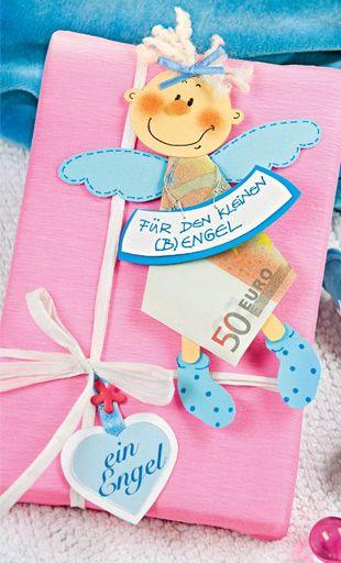 Geschenke Zur Geburt Geldgeschenkidee Zur Taufe Babyschuhe Falten