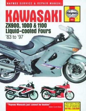 Haynes Hard B Manual 1681 Kaw Zx900 Manuals Haynes Kawasaki Motorcycle Manual Repair Manuals Kawasaki Motorcycle Repair