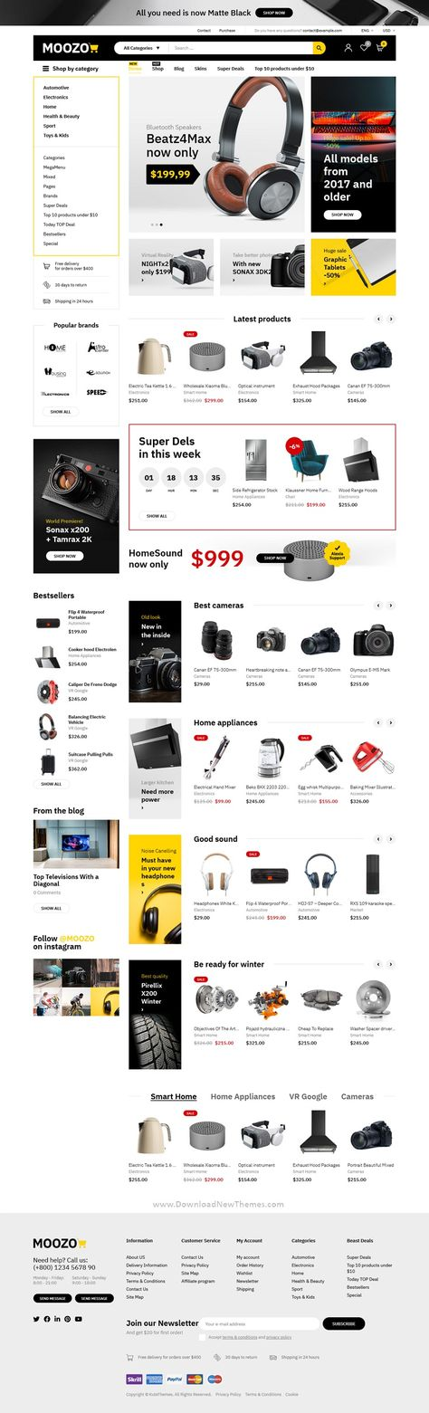Moozo Tools, Furniture, Fashion, Jewellery, Market WooCommerce Theme