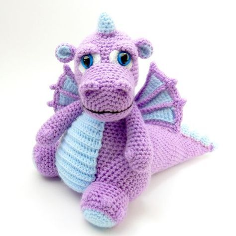 20 Amigurumi Dragon Free Crochet Patterns | Häkeln muster, Drachen ... | 474x474