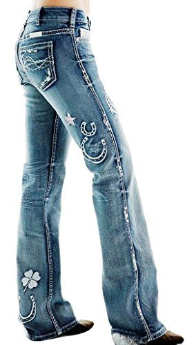 Denim Juniors Boot Cut 35 Inseam Jeans for Women Cowgirl Tuff Jeans, Cowgirl Outfits, Cowgirl Style, Western Outfits, Western Wear, Western Dresses, Western Style, Cowgirl Boots, Cowgirl Chic