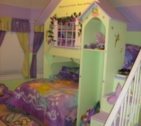tinkerbell room could easily make garden, fairytale or princess