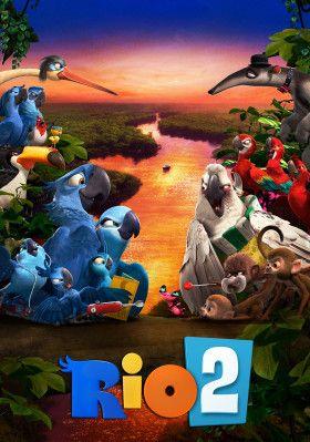 Rio 2 Movie Poster Image Cute Cartoon Wallpapers Cartoon Wallpaper Rio 2 Movie