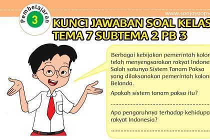 Kunci Jawaban Buku Tema 7 Kelas 5 Halaman 37 Guru Ilmu Sosial Cute766