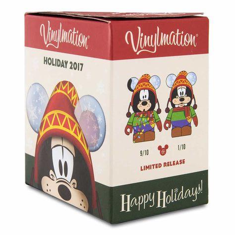 NEW Disney Vinylmation Holiday 2015 Eachez Mystery Blind Box Mickey or Minnie
