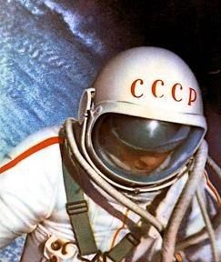 WORLD'S FIRST SPACE WALK Aleksei Arkhipovich Leonov