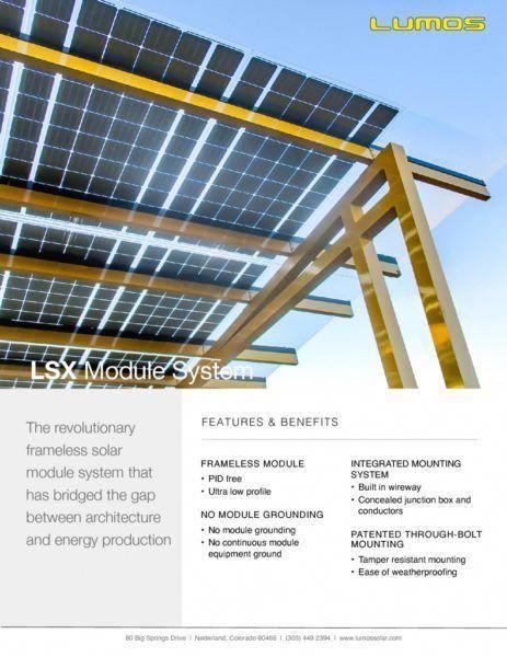 Lsx Solar Panel System Frameless Beautiful Solutions Solar Panels Solar Solar Energy Panels