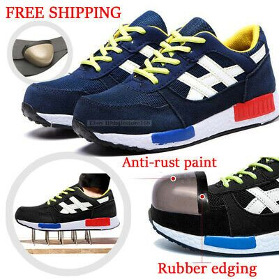 huge discount 61050 f9a62 Ad)eBay - Ultra Light Safety Shoes Breathable mesh Steel Toe ...