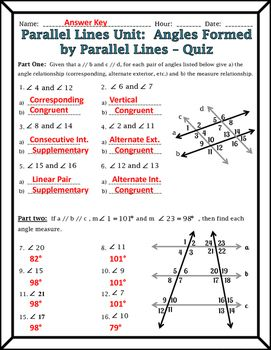 Image Result For Transversal Lines And Angles Angle Relationships Homeschool Math Parallel And Perpendicular Lines
