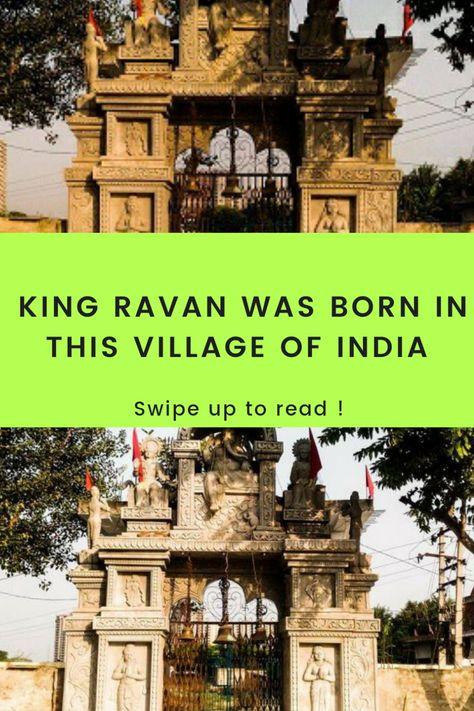 Bisrakh Village The Birthplace Of King Ravana Legends And Myths Village King Ravana