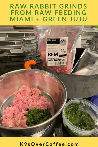 My Last Order From Raw Feeding Miami Consisted Of Cooling Proteins