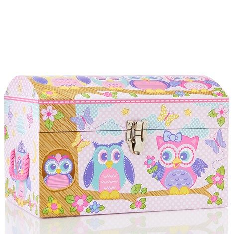 Owl Theme Dome Storage Box | Abbagales room ideas! | Pinterest | Baby girl nursery themes and Nursery  sc 1 st  Pinterest : owl storage trunk  - Aquiesqueretaro.Com