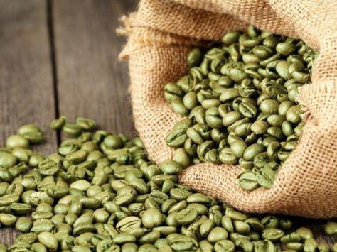ingredienti del chicco di caffè verde