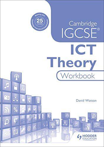 Read Book Cambridge Igcse Ict Theory Workbook Download Pdf Free Epub Mobi Ebooks Cambridge Igcse Workbook Cambridge