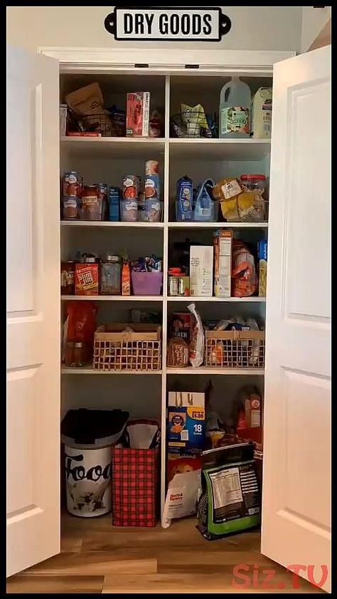 DIY home storage kitchen pantry DIY home storage kitchen pantry DecorMatters Save Images Deco...