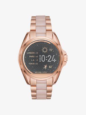 Reloj Bradshaw Tono Dorado De En Rosa Inteligente Y Acetato Michael dxQCBoEreW