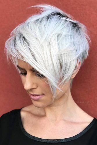 Teinture de cheveux Г la mode pour les coupes de cheveux courtes