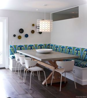 36 Nice Banquette Sitting Ideas For Kitchen Dining Booth