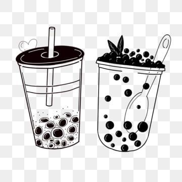 Hand Drawn Pearl Milk Tea Cup Milk Tea Hand Painted Png Transparent Clipart Image And Psd File For Free Download In 2021 Milk Tea Tea Logo Tea Illustration