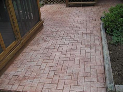 Image Detail For Stamped Concrete Decorative Concrete In