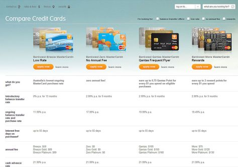 15 Tips to Build Better Banking Product Comparison Pages