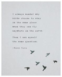 Poetry art print harun yahya inspirational by Riverwaystudios