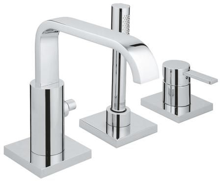 19302001 Allure Roman Bathtub Faucet With Hand Shower In Starlight