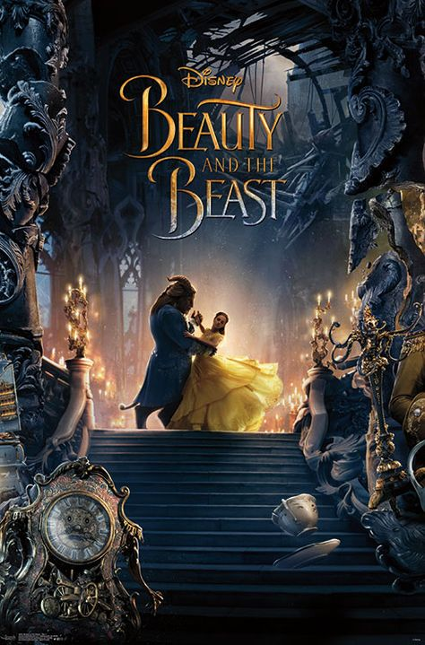 Beauty & The Beast - Trip 2 Poster and Poster Mount Bundle