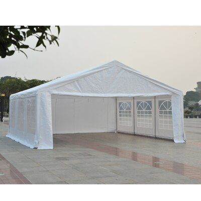 Ft. D Steel Pop Up Party Tent Canopy