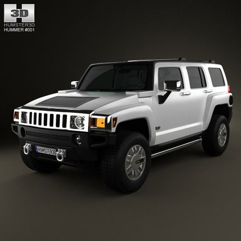 Hummer H3 3d model from humster3d.com. Price: $75
