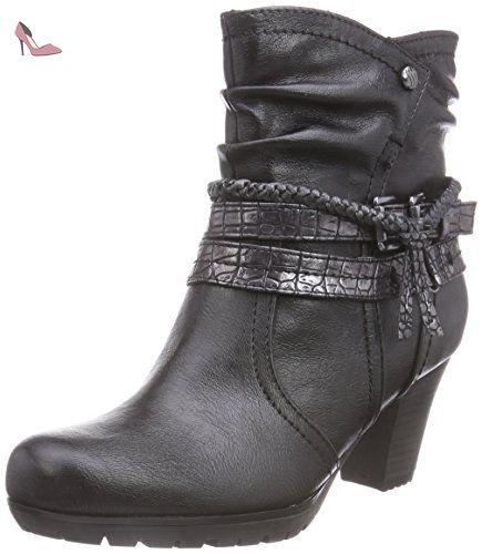 25465, Bottes Femme, Noir (Black), 37 EUSoft Line