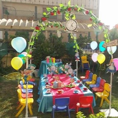Alice In Wonderland Garden Tea Party Ideas Tea Party Decoration