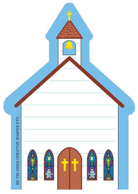 Mini Notepad - Church
