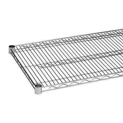 Thunder Group Inc Wire Shelf With 4 Plastic Clips Shelving Unit