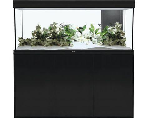 Aquatlantis Aquarium Kast Fusion 150 Led Zwart Huis