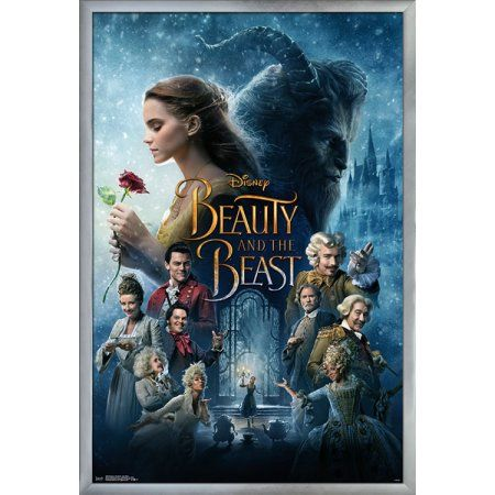 Beauty The Beast One Sheet Walmart Com The Beast Movie Beauty And The Beast Movie Disney Beauty And The Beast