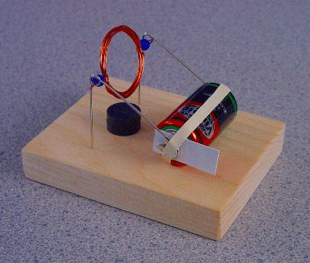 Magnet Motor A Very Simple Dc Scouts Junior Get Moving Journey Science Electricity Physics Projects Electrical