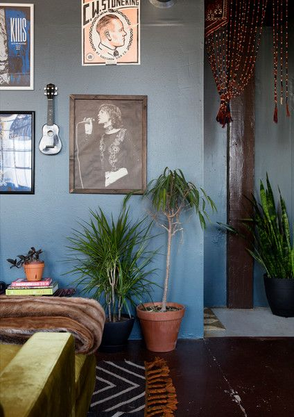 Music City Vibes - The Eclectic Maximalist Home Of Nashville's Coolest Fashion Designer - Photos