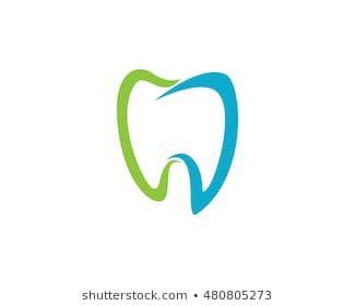 Abstract Vector Illustration Of Teeth Dental Logo Logo Dental Dental Vector