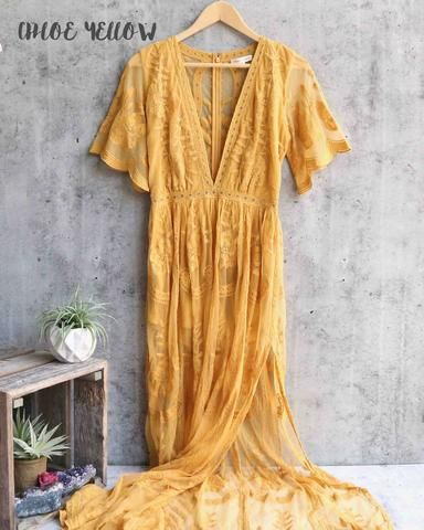 as you wish embroidered lace maxi dress (women) - more colors - shophearts