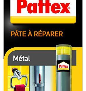 Pattex 1875425 Pâte à Réparer Métal Reparer Métal Pates