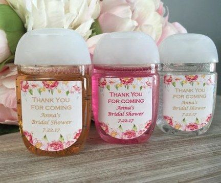 34 Ideas Baby Shower Favors Hand Sanitizer Birthday Parties