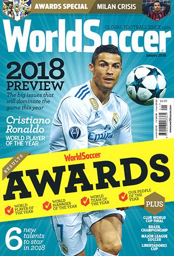 World Soccer January 2018 World Soccer Magazine Sports Magazine World Football