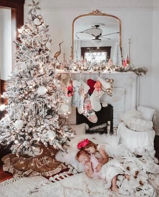 Christmas Ideas For Your Living Room Christmas Christmasdecor Mantel Christmasdecor Mirror F Christmas Home Anthropologie Christmas Christmas Decorations
