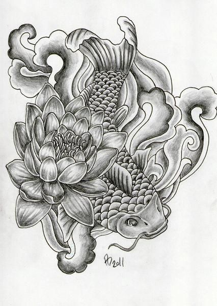 Japanese Water Tattoo Designs Floral Japanese Koi Lily Roses Tattoo Water Wild Leave A Comment Japanesetattoos Japanese Tattoo Women Tattoos Sleeve Tattoos
